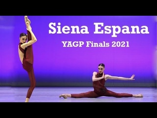Siena Espana Wows Audience and Judges at World's Largest Ballet Competition YAGP 2021 Finals