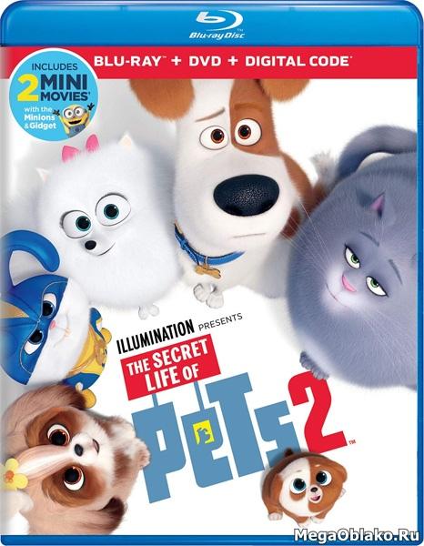 Тайная жизнь домашних животных 2 / The Secret Life of Pets 2 (2019/BDRip/HDRip)