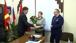 Максим Пекарский поздравил Сергея Зяблова с Днем Героев Отечества.