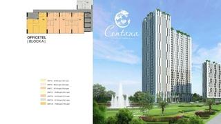 Bán căn hộ officetel 2pn Centana Thủ Thiêm Mt đg Mai Chí Thọ 0903358083 -