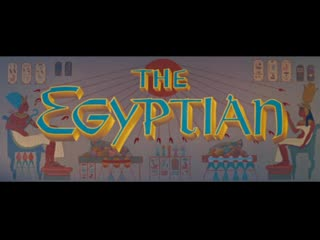 The Egyptian (1954) in english eng
