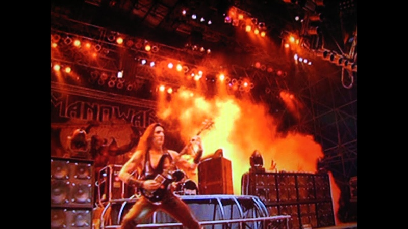 Manowar Battle Hymn Live at Earthshaker Festival, BEST SOUND QUALITY