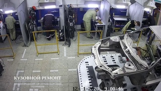 VII Региональный чемпионат WSR - Кузовной ремонт - день С1
