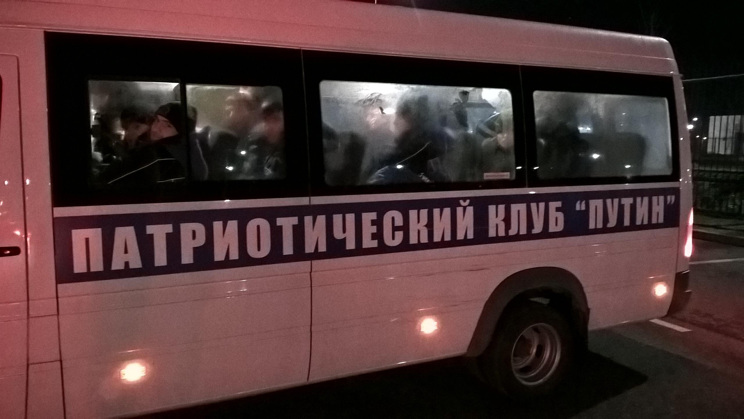 """Патриотический клуб """"Путин"""" в Чечне"""