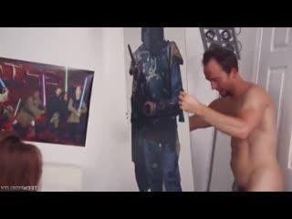 Kimberly Brix Ким Брикс сосет и трахается на фоне постеров звездных войн [порно, ебля, инцест, минет, трах,секс,измена]