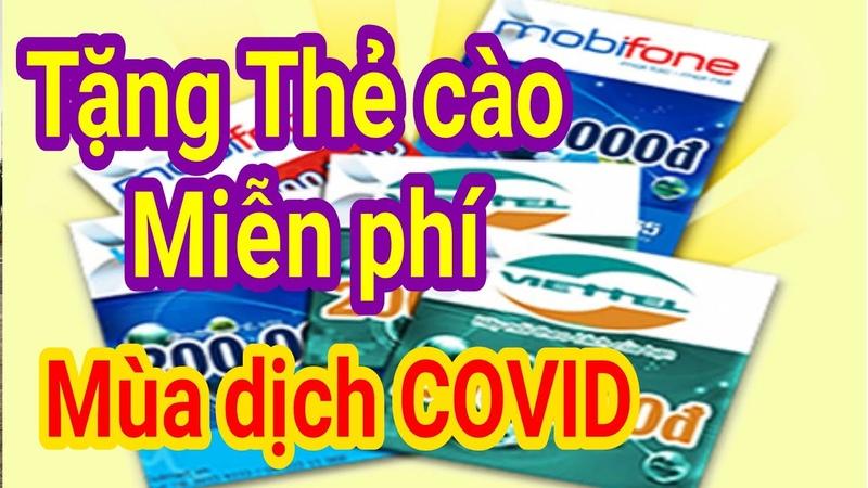 Tặng Thẻ Cào Mùa Dịch Covit 19 - Kiếm Tiền Trên Điện Thoại