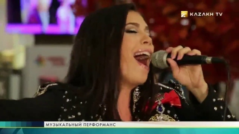 Диана Шарапова в программе Музыкальный перформанс 2 часть