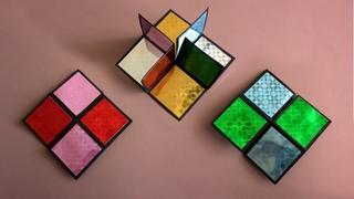 Простая игрушка антистресс из бумаги • Оригами бесконечная карточка • DIY Flip Flop Endless Card