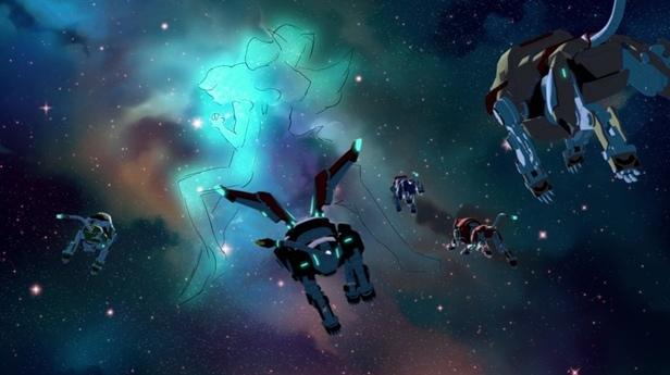 В погоне за призраками восьмого сезона(Voltron), изображение №24