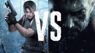 Сравнение Resient Evil 4 и Resident Evil: Village