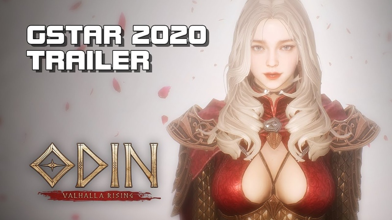 ODIN Valhalla Rising - In-Game Trailer (GStar 2020) - Mobile PC - F2P - KR