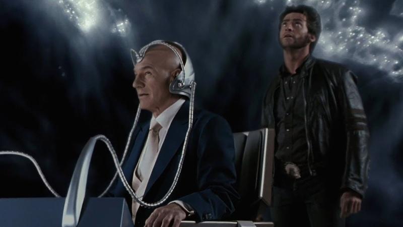 Профессор Икс показывает Логану Церебро