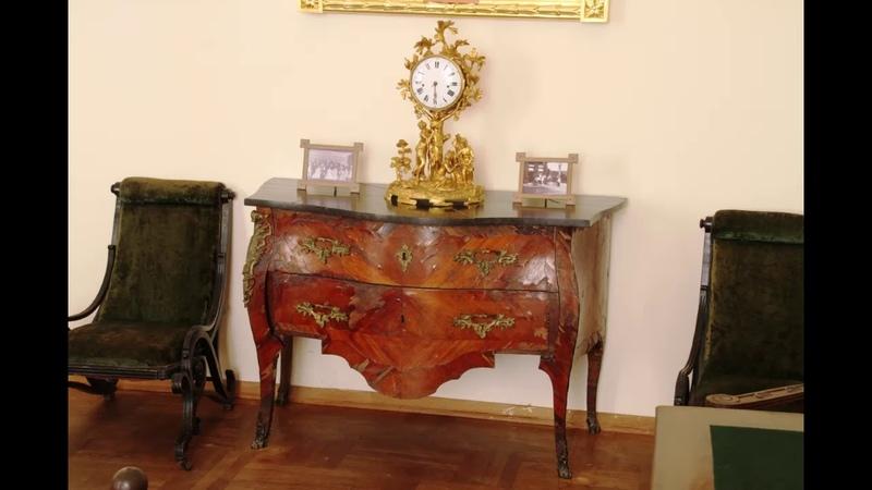 Рождение Адониса Часы из экспозиции Атаманского дворца