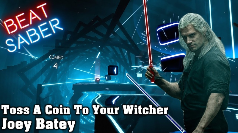 Beat Saber - Toss A Coin To Your Witcher - Joey Batey (Custom Song)