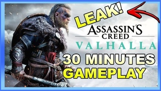 Assassin's Creed Valhalla Leaked Gameplay | 30 Minutes Of Assassin's Creed Valhalla