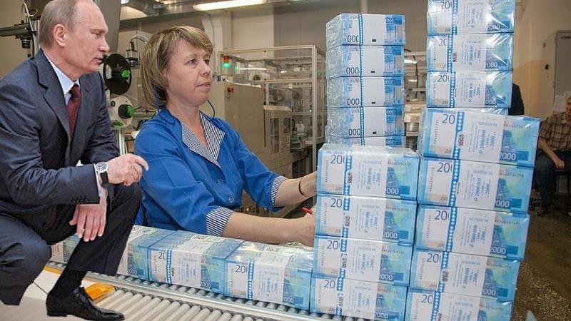Как и где печатают Рубли Какие тайны хранит гознак