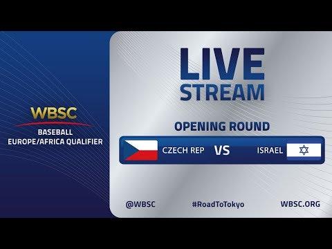 Czech Republic v Israel - Baseball Europe/Africa Olympic Qualifier
