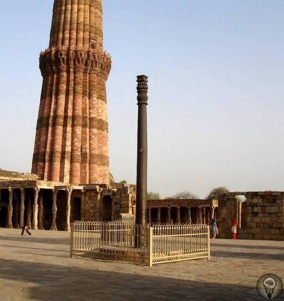 Кутубская колонна в Индии: почему считают, что ее сделали атланты Индию, конечно, называют страной чудес, но есть там вещи, которые удивляют даже местное население. Одно из таких чудес это так