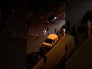 Muslims attacking cars in Birmingham during Ramadan