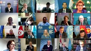 Выступление В.А.Небензи на видеоконференции СБ ООН по гуманитарной и политической ситуации в Сирии