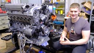 BMW E38 750iL M73 V12 БУМЕР восстановление мотора