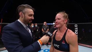 UFC Бойцовский остров 4: Холли Холм - Слова после боя