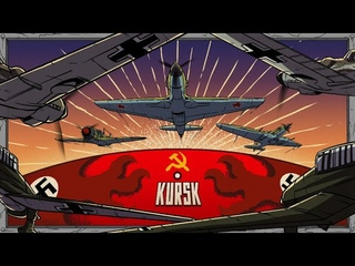Battle of Kursk from the Aerial Perspective   Animated History