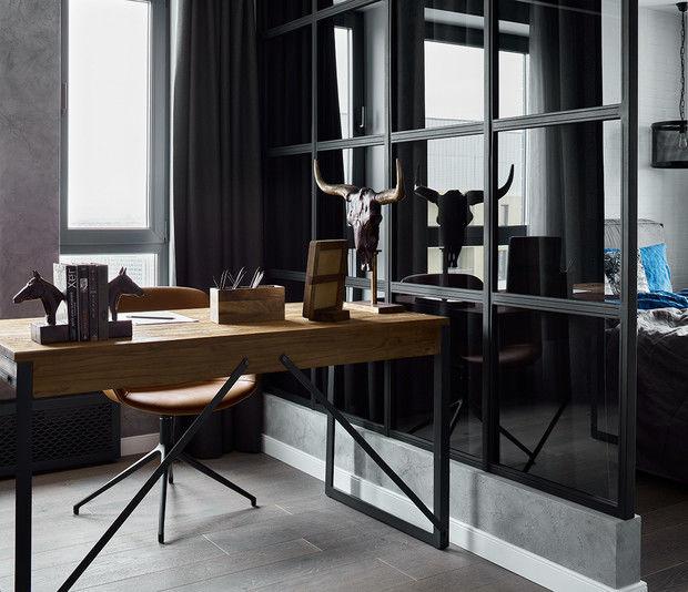 Московская квартира 83 м² в стиле лофт от Анастасии Уфимцевой