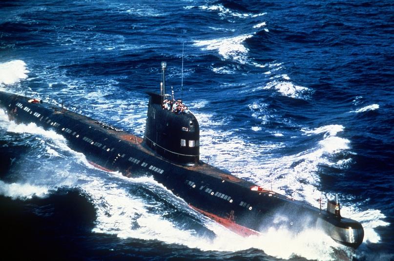 Подводная лодка проекта 641