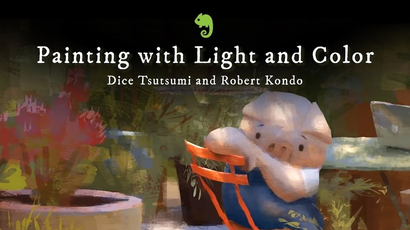Painting with Light and Color with Dice and Robert Schoolism Class