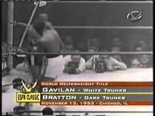 Kid Gavilan vs Johnny Bratton III