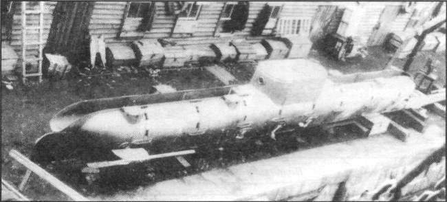 Подводная лодка «Матрос Петр Кошка» конструкции Е.В. Колбасьева.