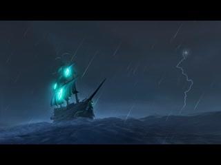 Sea of Thieves - Sailing at night
