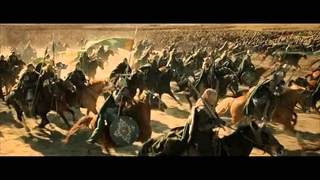 Lord of the Rings Battle scene With epic music