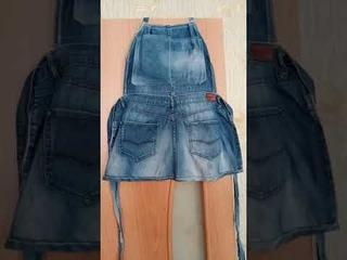 Фартук для огорода своими руками.Очень удобно.Много карманов.Нужны всего лишь старые джинсы#shorts