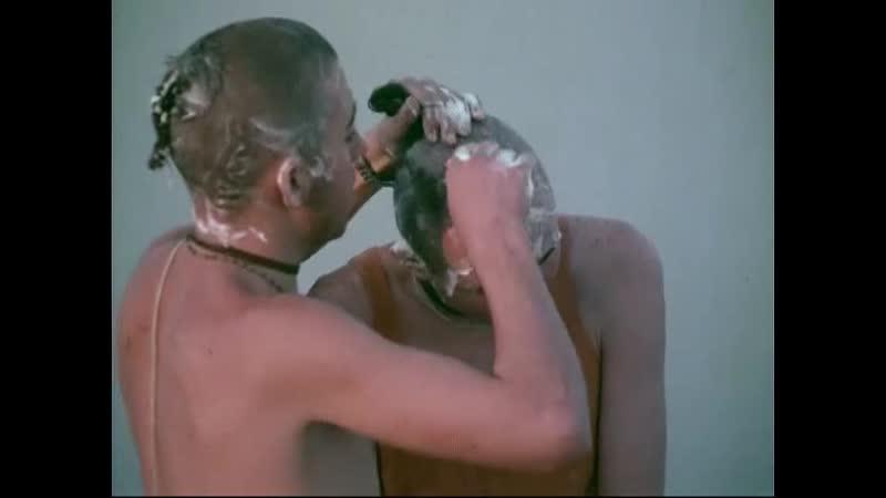 Giriraj Swami - At the Ganges on Gaura-purnima 1974, with