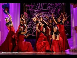 """Премьера номера """"Красный"""". Старшая группа шоу-балета """"Культурная революция"""". Фрагмент концерта 2017"""