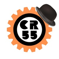Логотип  ЦЕПНАЯ РЕАКЦИЯ 55