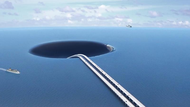 Безумный план. Что, если построить тоннель под океаном?