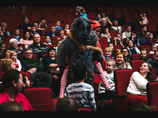 Московский театр комедии и Putin Team устроили праздник для детей
