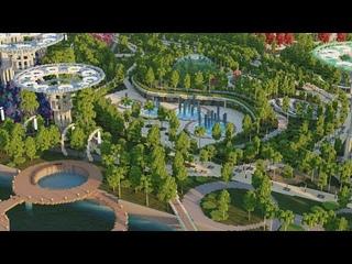 Большой парк в майнкрафте! Для проекта AncorioRP
