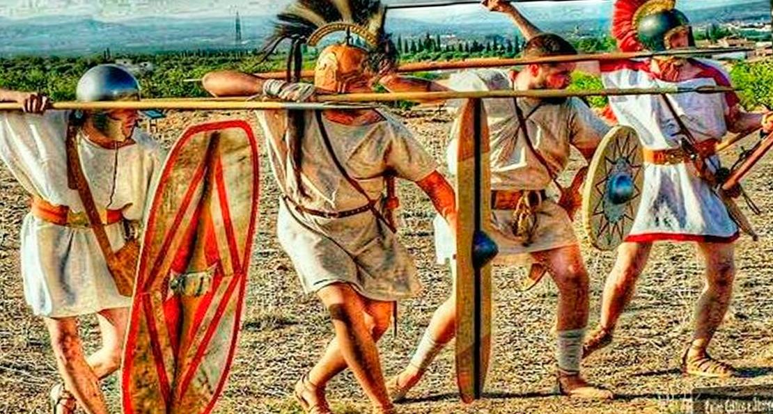 Пехота иберийцев