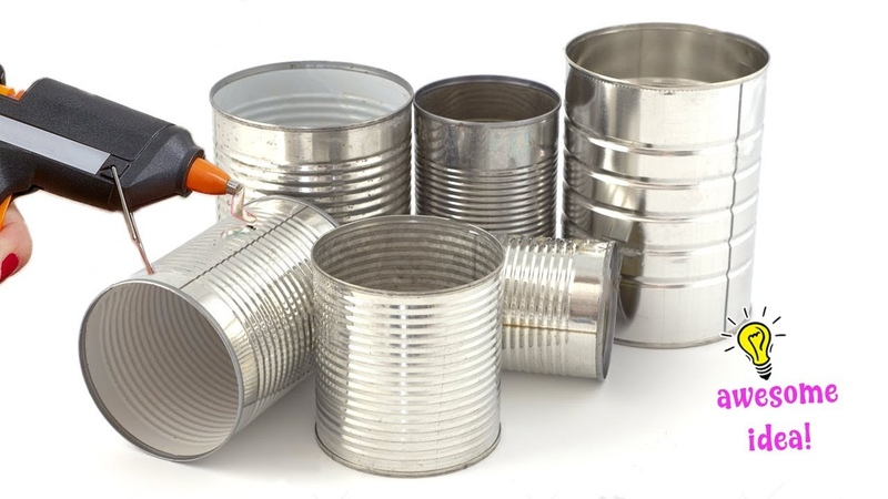 5 BRIGHT IDEAS TO REPURPOSE TIN CAN INTO SOMETHING USEFUL!! Best Reuse Idea