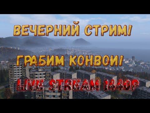 DayZ 1 05 TPP Вечeрний стрим Грабим Конвои 2K1440p
