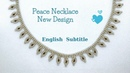How To Make Peace Necklace - Barış Kolyesi Nasıl Yapılır - Design by Dökmez . ☮️ Nbeads
