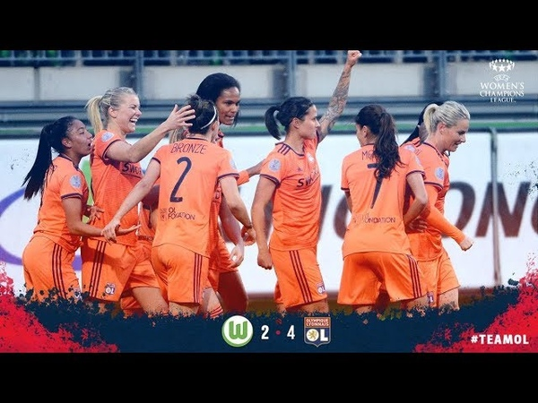 Wolfsburg 2 - 4 Lyon - Match highlights - Champions League Quarter-final ( 27th March 2019)