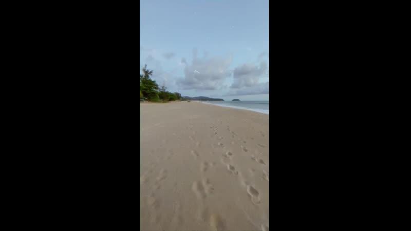 Пляж без следов человека Идём по птичьим следам Кстати кто может доходчиво обьяснить почему закрыли пляжи