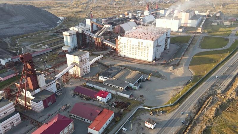 Строительство автодороги Березники Соликамск с высоты