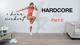Caroline Girvan - HARDCORE HIIT Full Body Workout 1 HOUR  20 sec on, 20 sec off | Супер-интенсивная тренировка (20сек /20сек)