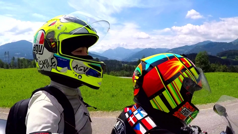 Мотовикинги в Австрии Июнь 2018